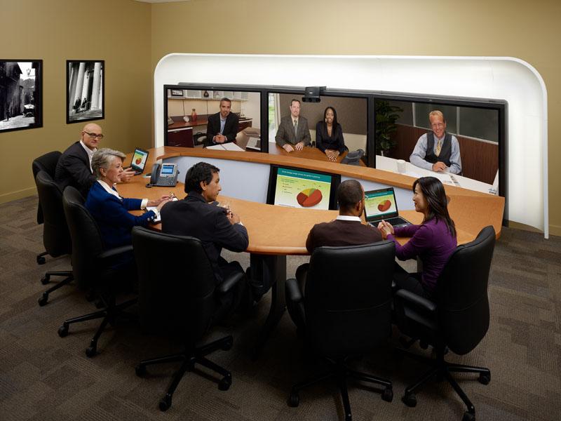 Cisco telepresence immersive system 3010
