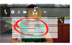 LifeSize Icon showing scheduling of weekly meetings