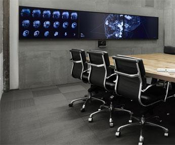Oblong Mezzanine in Boardroom