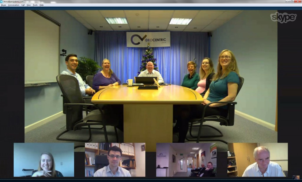 Yes, it's Skype to anything Video Conferencing