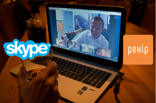 Celebrate with Skype and Pexip