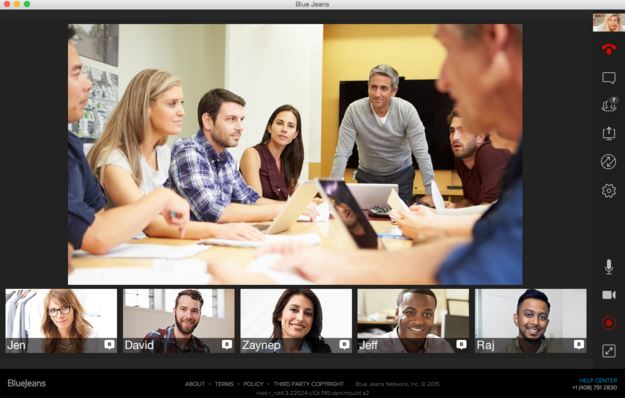Bluejeans Cloud Video Conferencing Service