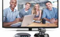 Lifesize Icon 400 Video Conferencing System with screen and touch phone