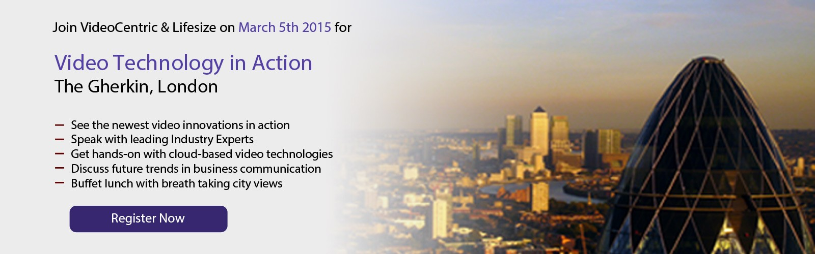 Video Technology In Action Event, Register Now