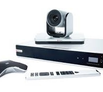 Polycom RealPresence Group 500 video conferencing codec, EagleEye camera, remote and micrphone