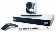 Polycom RealPresence Group 700 with remote control, camera and microphone