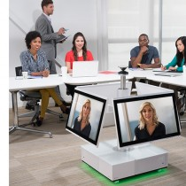 Polycom RealPresence Centro in the middle of a room