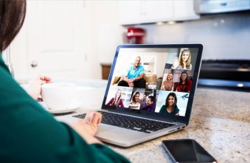 Lifesize Cloud with Multipoint Conference on Laptop