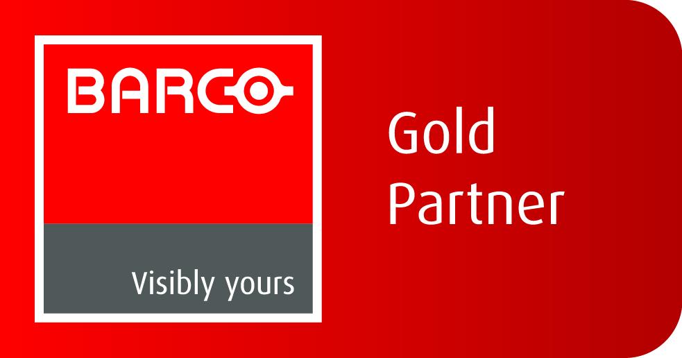 Barco Gold Partner UK Logo