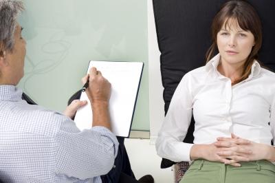 Psychiatric Consultant discussing patient issues