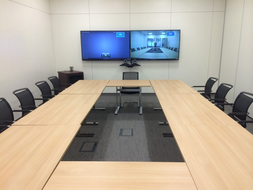 Video Conferencing Installation Boardroom VideoCentric