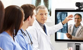 Video Conferencing with Doctors and sharing x-rays