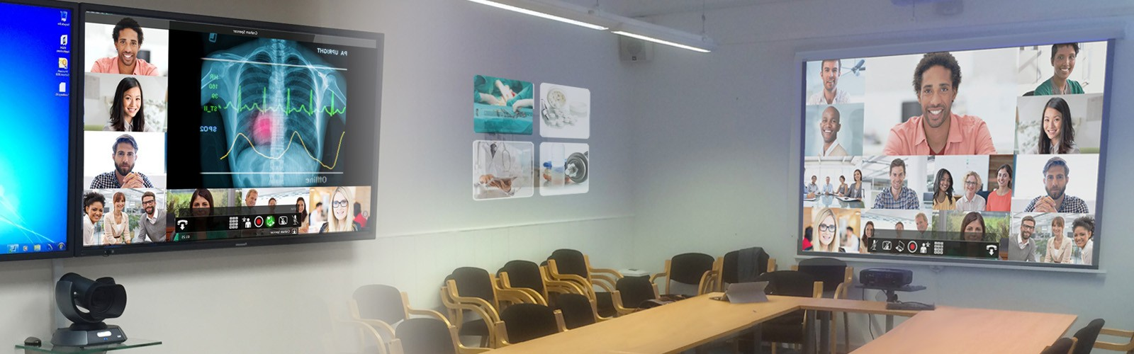 Brighton and Sussex NHS Trust MDT Room with Video Conferencing