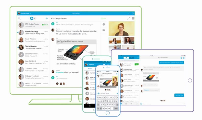 Cisco Spark on many devices