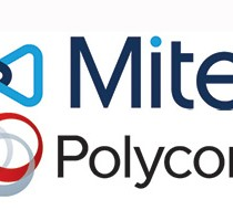 Polycom Mitel logos