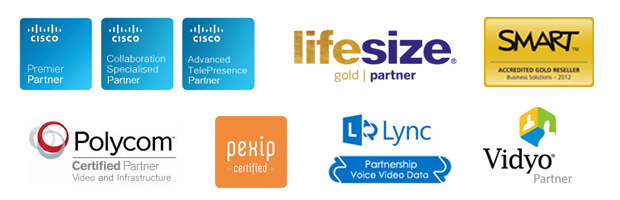 VideoCentric Accreditation Logos