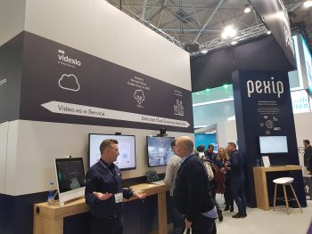 Pexip Videxio at ISE 2019
