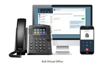 8x8 Virtual Office with Polycom Handset and mobile apps