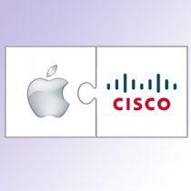 Cisco Apple Logos combined
