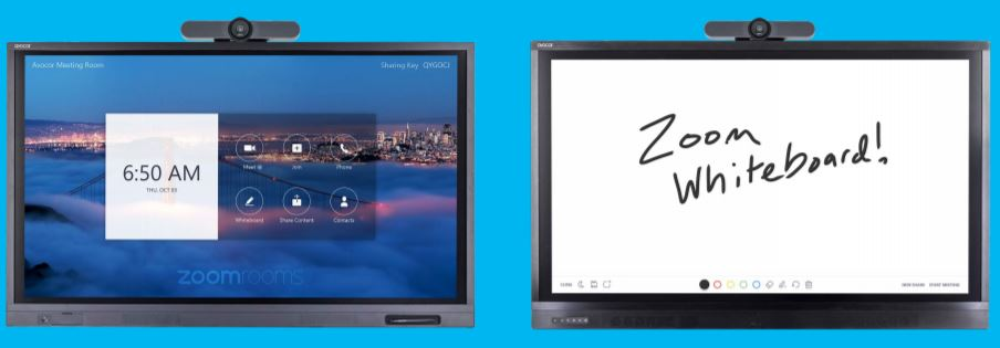 Avocor ALZ Series with Whiteboard for Zoom Rooms