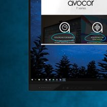 Avocor and Microsoft Touch Displays
