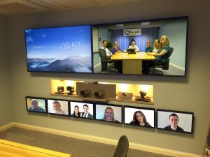 VideoCentric Boardroom Demonstration Suite