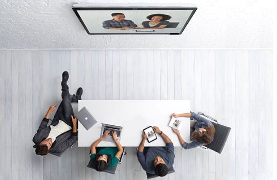 Cisco Spark Board Room from Above