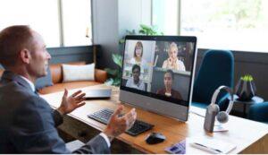 Cisco WebEx Desk Pro with 4 way multipoint