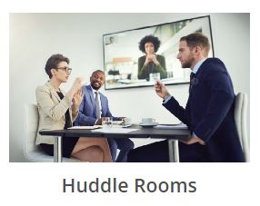 Zoom Room and Huddle Rooms