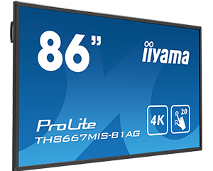 "Iiyama 86"" 4K Display"