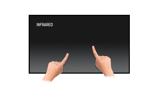 "Iiyama 86"" 4K display with finger touch technology"