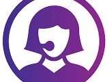 purple-female-tech-it-support-icon