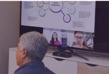 Lifesize Share on screen in meeting room