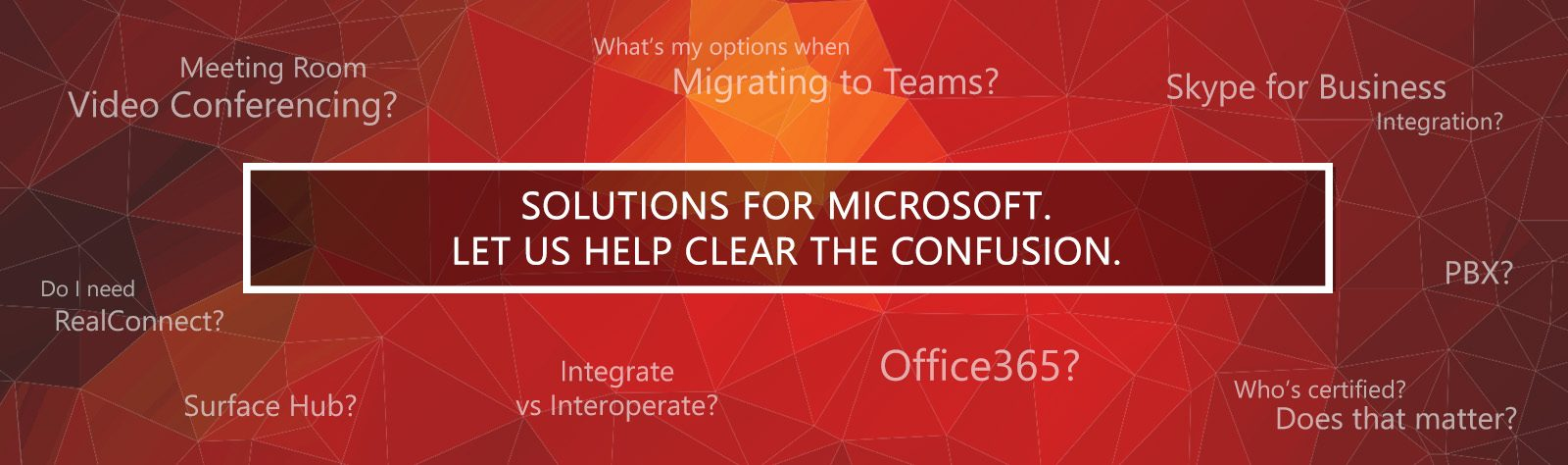 Microsoft Skype for Business and Teams Video Conferencing Solutions