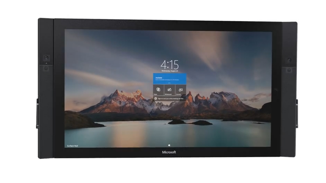 Microsoft Surface Hub And Video Conferencing
