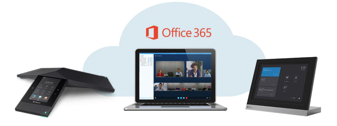 Polycom Office 365 Integration Header