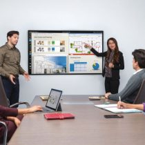 Polycom Pano Content Sharing in room