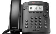 Polycom VVX 300 Series Business Media Phone Front View