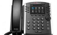 Polycom VVX 400 Series Phone front view