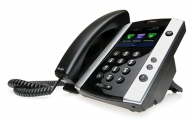Polycom VVX 501 side view