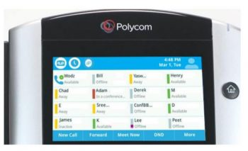 Polycom VVX 610 Touch Screen