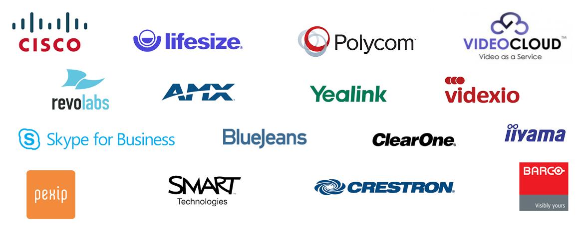 VideoCentric's Vendor Logos