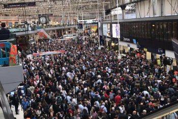 Waterloo Station Upgrade Disruption