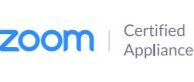Zoom Certified Appliance Logo