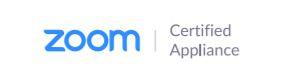 Zoom Certified Appliance Logo
